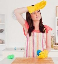 как смыть жирный слой с деревянной поверхности кухни