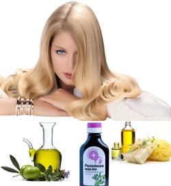 масла для здоровья волос